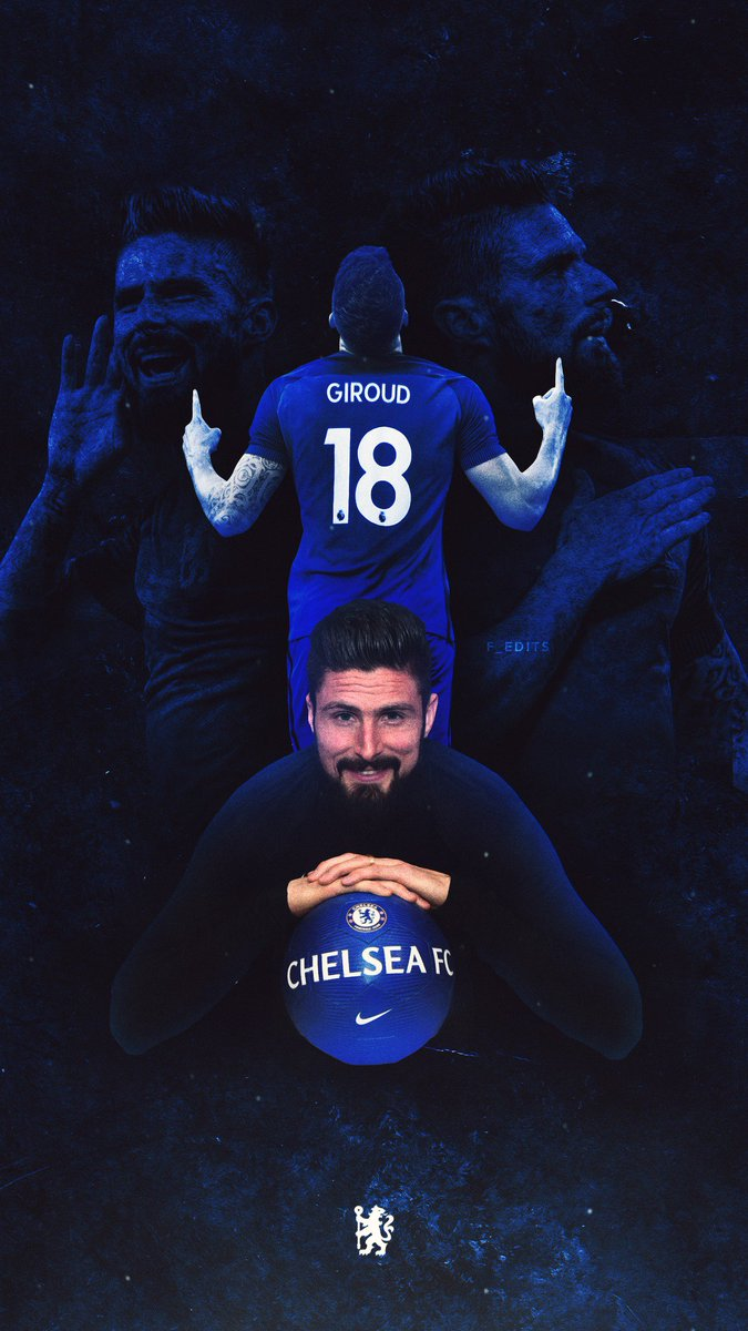 Olivier Giroud HD Mobile Wallpapers At Chelsea FC Chelsea Core