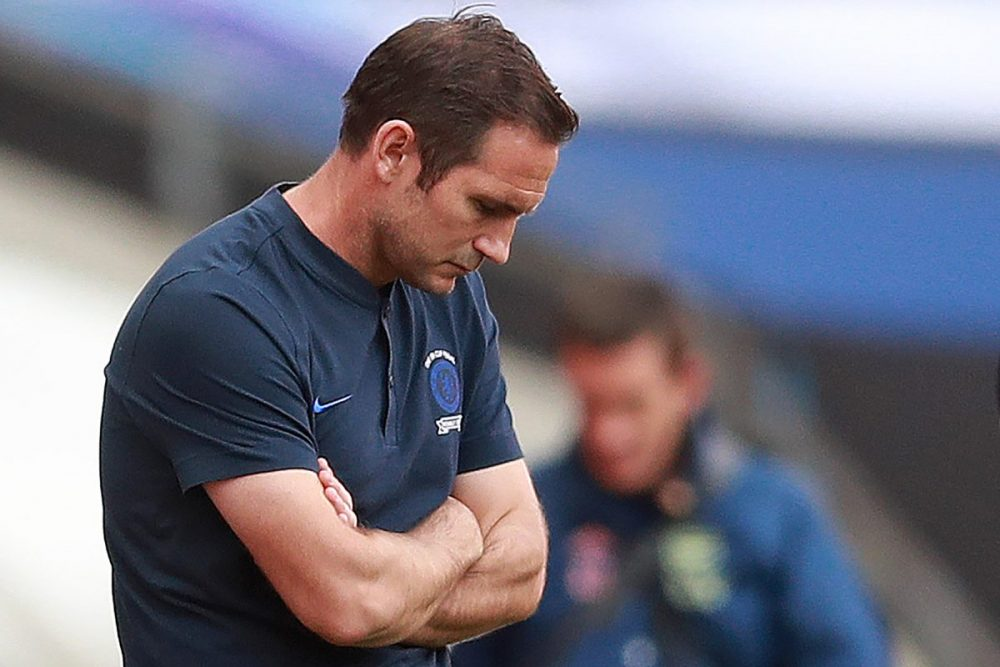 Chelsea Fans React To Coach Lampard's Ridiculous Line Up
